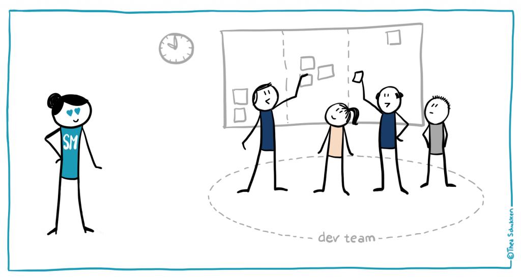 تیم توسعه دهنده اسکرام
