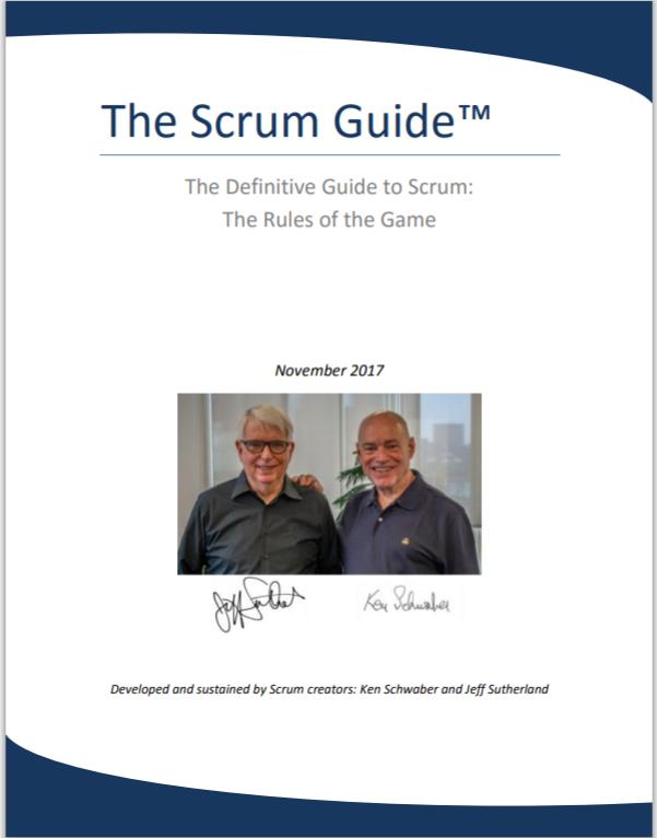 کتاب راهنمای اسکرام - The Scrum Guide