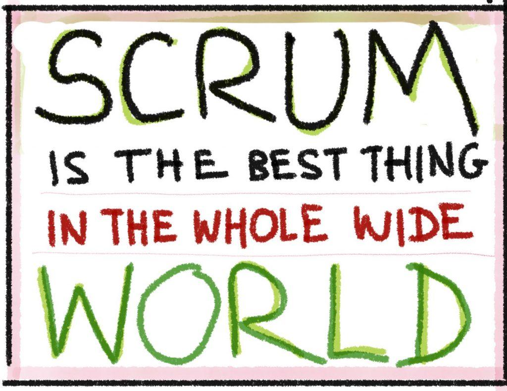 اسکرام بهترین در جهان